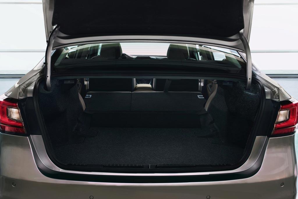 Багажник Субару Легаси 7