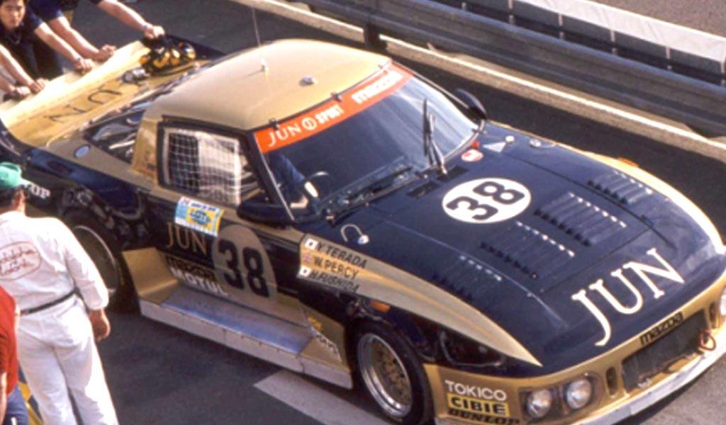 Mazda 254i Le Mans 1982