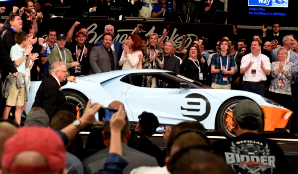 Ford GT Heritage Coupe 2019