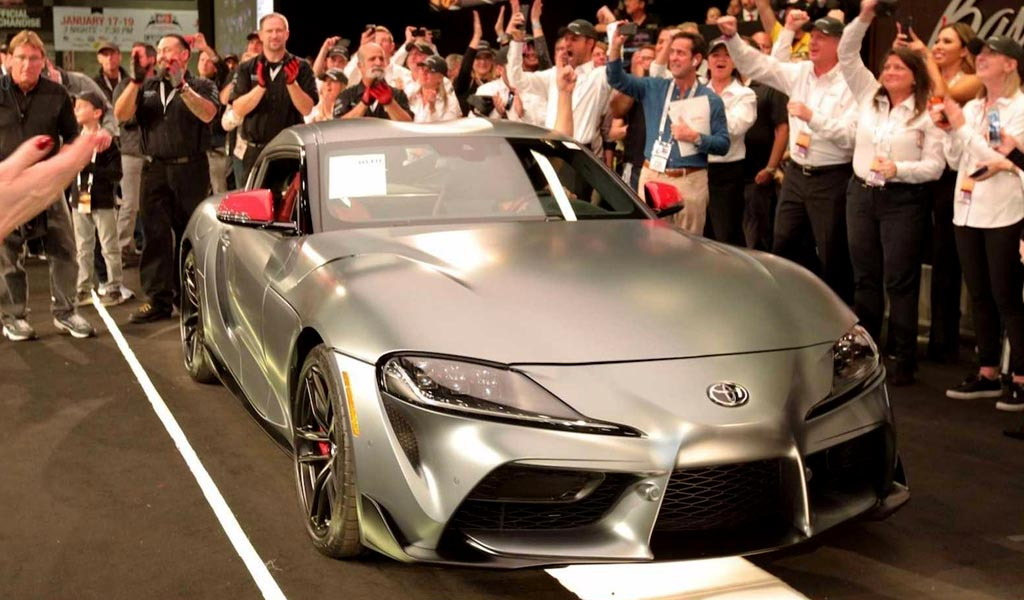 Toyota Supra Coupe 2020
