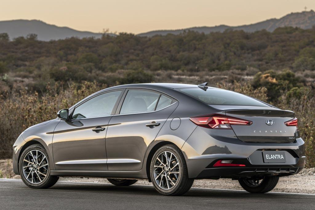 Новый кузов Hyundai Elantra 2019