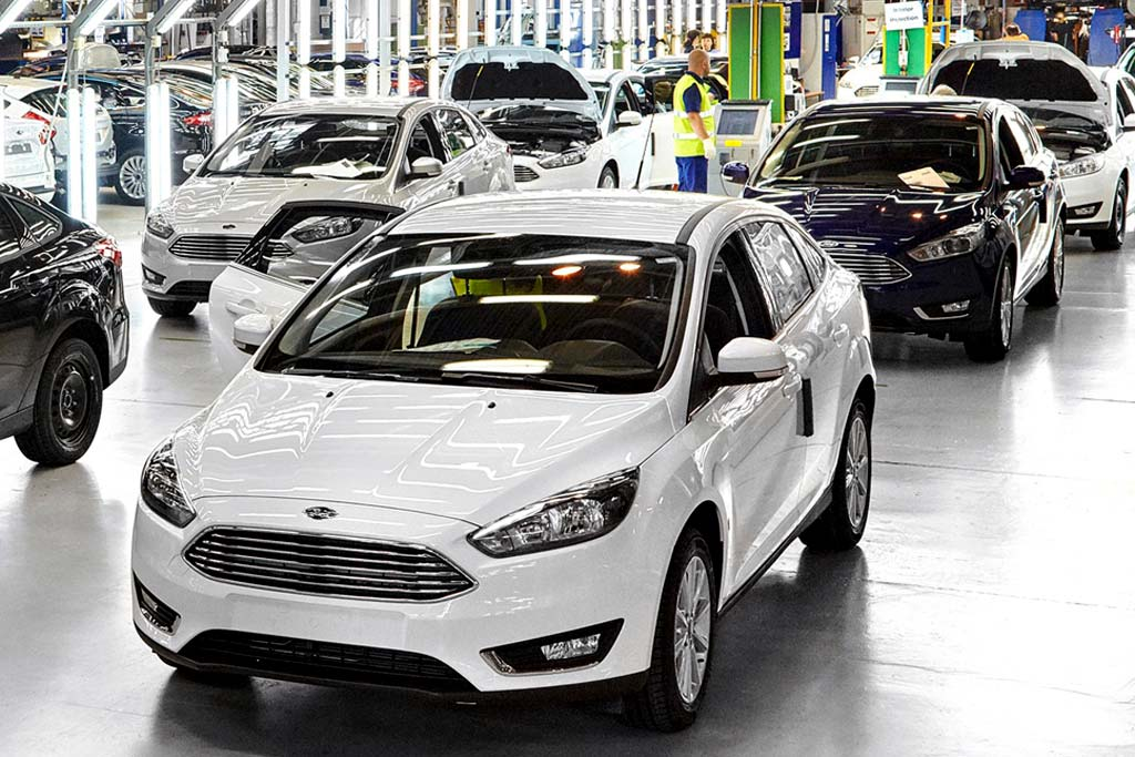 Выпуск Ford Focus в России