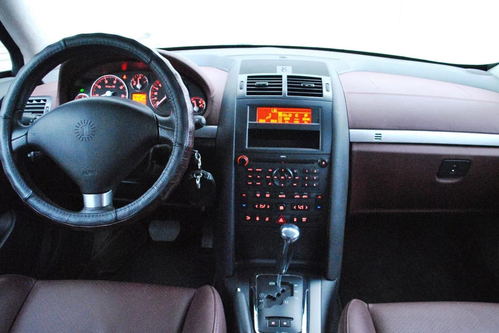 ГАЗ-21 из Peugeot 407
