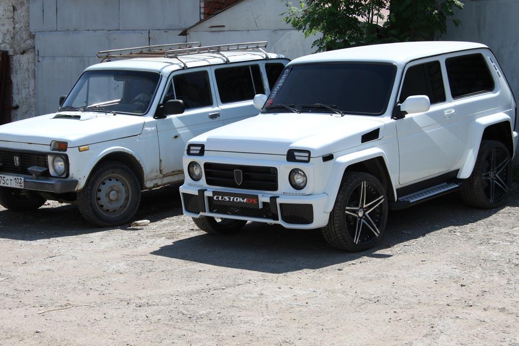 Lada 4x4 от CustomDS