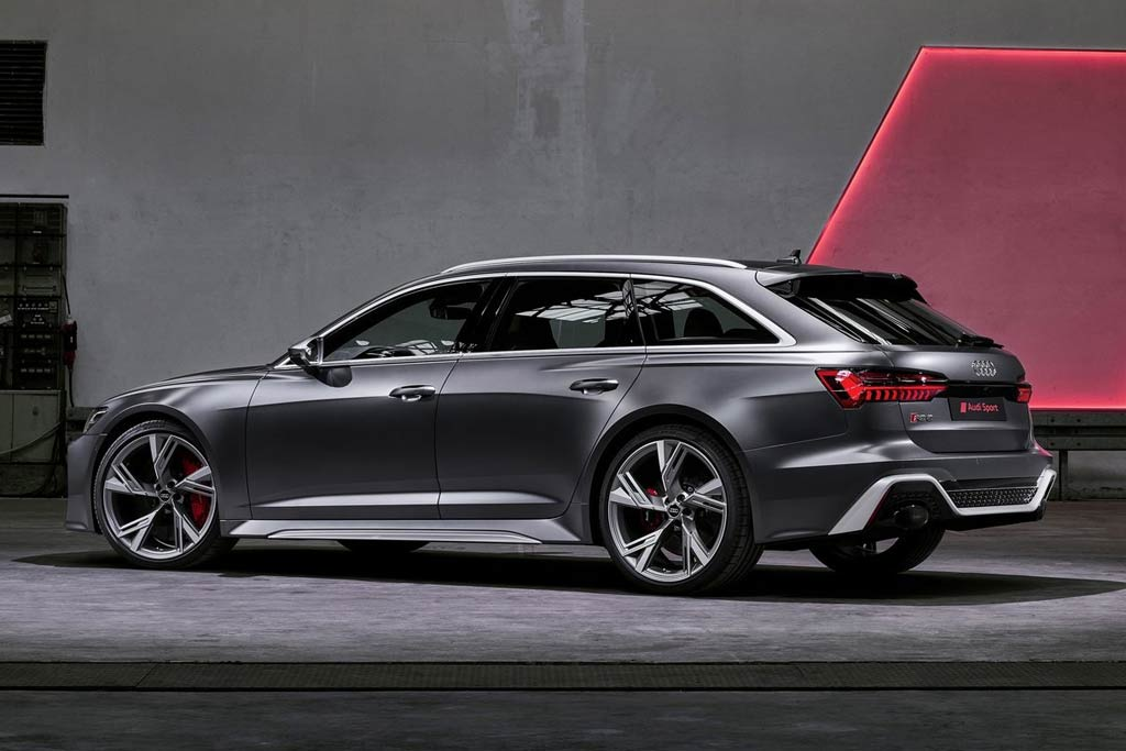 Audi RS6 Avant 2021 - фото и цена в России, технические ...