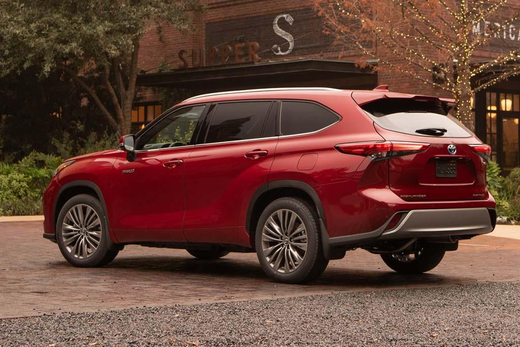Toyota Highlander Hybrid 2020
