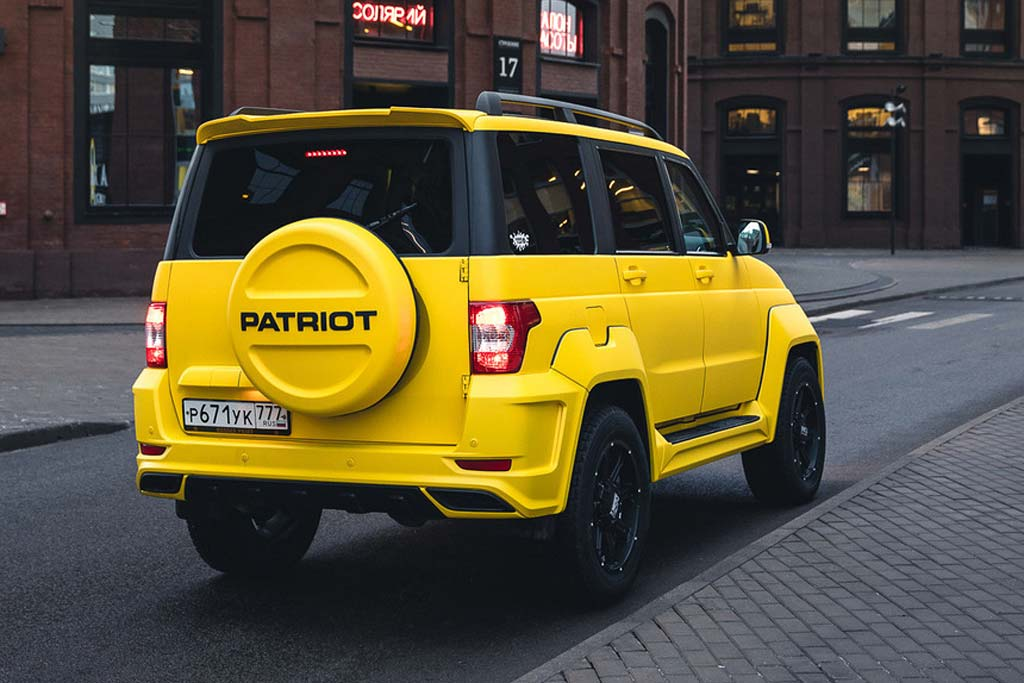 UAZ Patriot Turbo