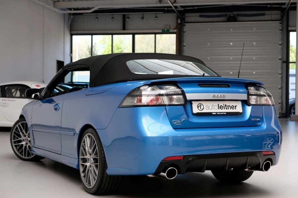 Saab 9-3 Sky Blue Edition