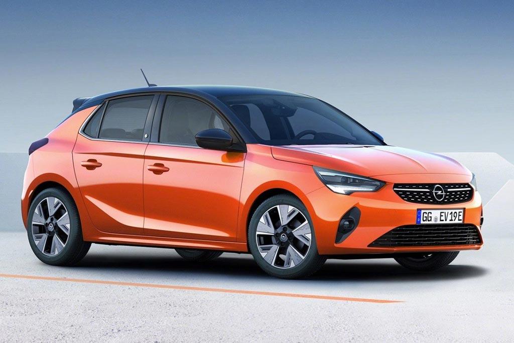 Электрический Opel Corsa-e