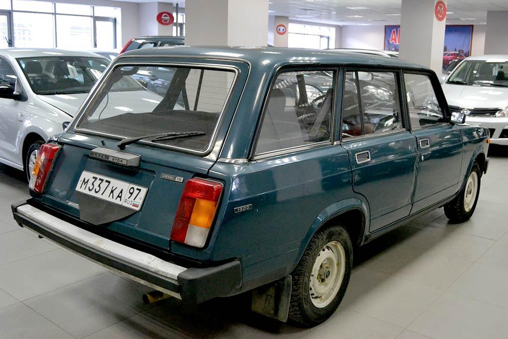 ВАЗ-21045 с дизельным мотором
