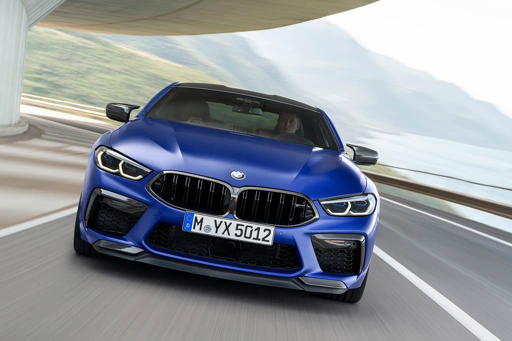 новый BMW M8 Coupe