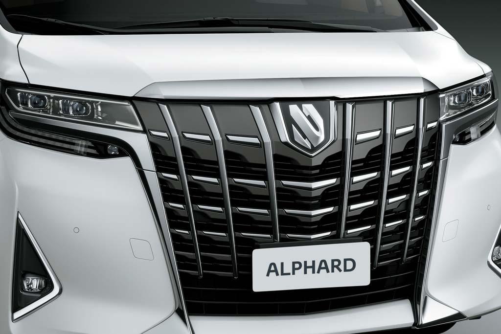 Логотип Toyota Alphard