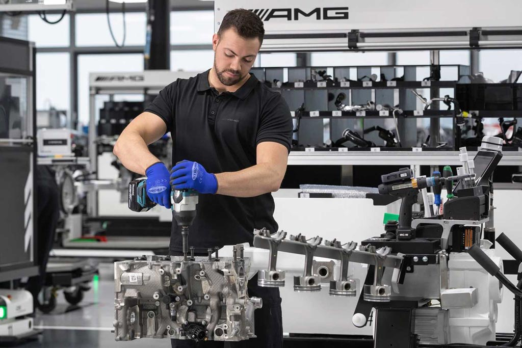 Мотор AMG M139