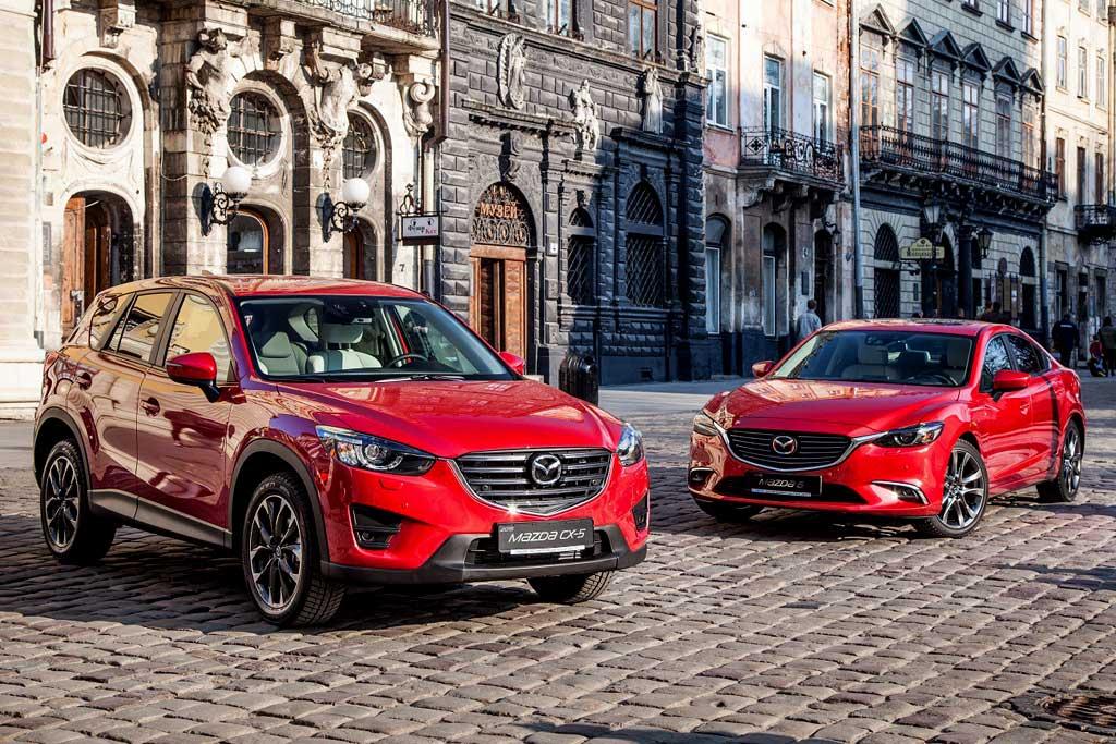 Mazda 6 и CX-5