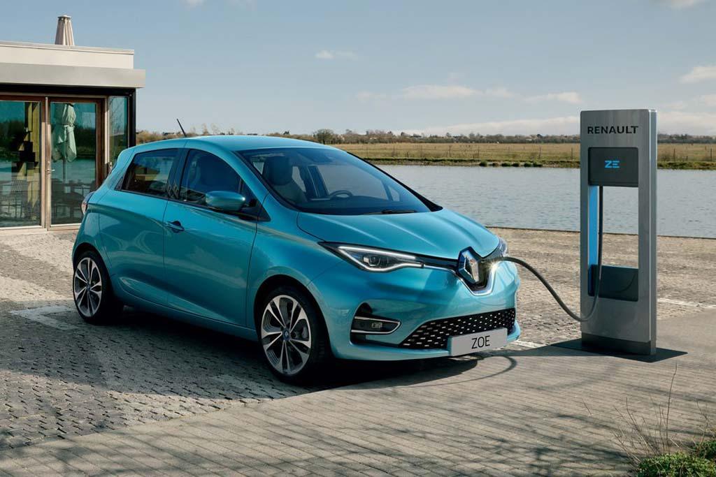 Новый Renault Zoe 2020