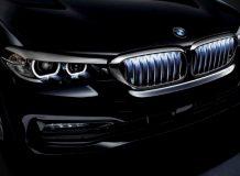 Подсветка решетки радиатора на BMW