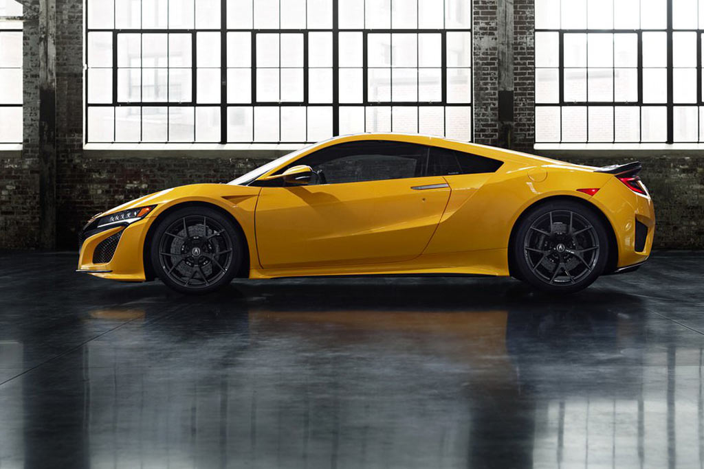 NSX Indy Yellow Pearl
