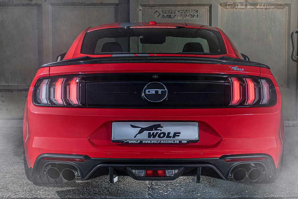 Wolf Racing Mustang