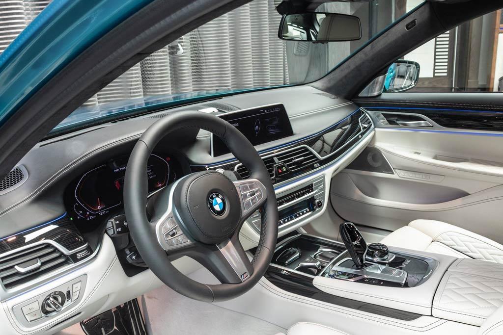 BMW M760Li Atlantis Blue