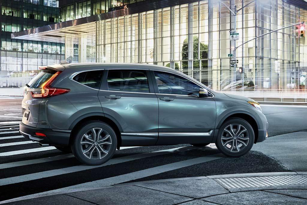 Новый кузов Хонда CR-V 2021