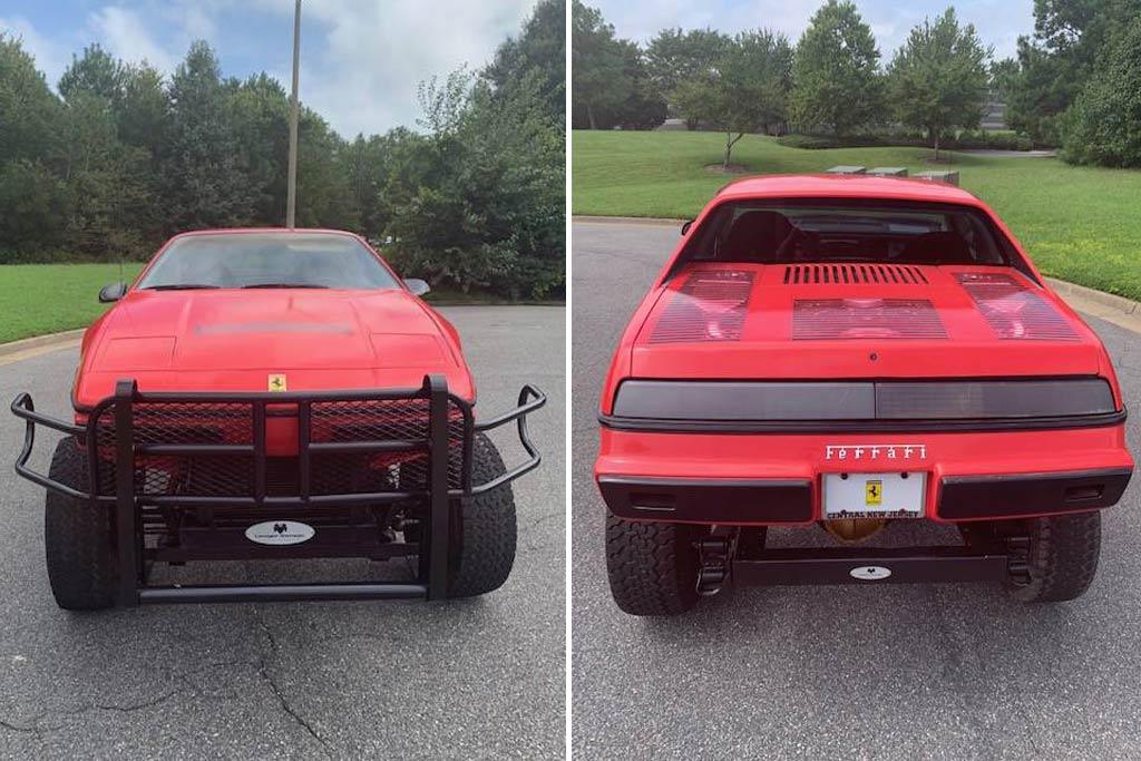 1984 4x4 Fiero