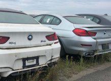 Брошенные BMW и Mini