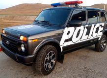 Lada 4x4 для полиции Монголии