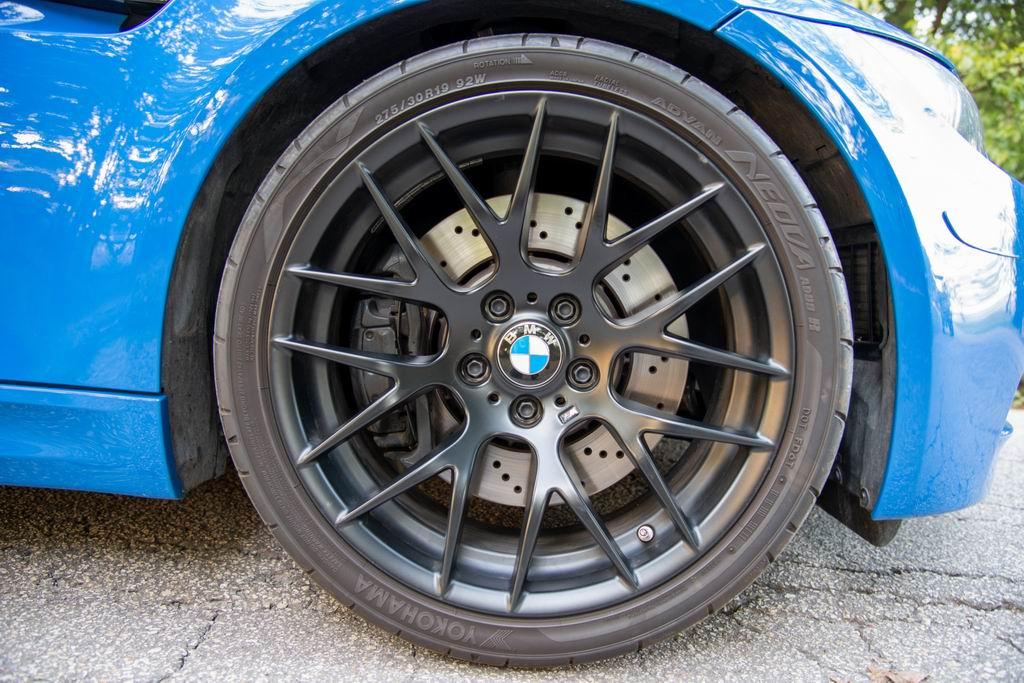 BMW M3 (E92) Santorini Blue