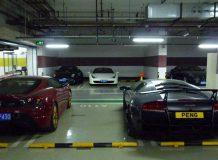 Дорогое парковочное место