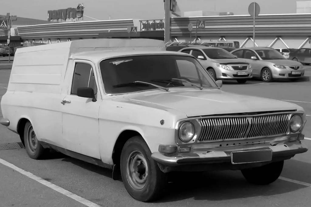 Фургон ГАЗ-24