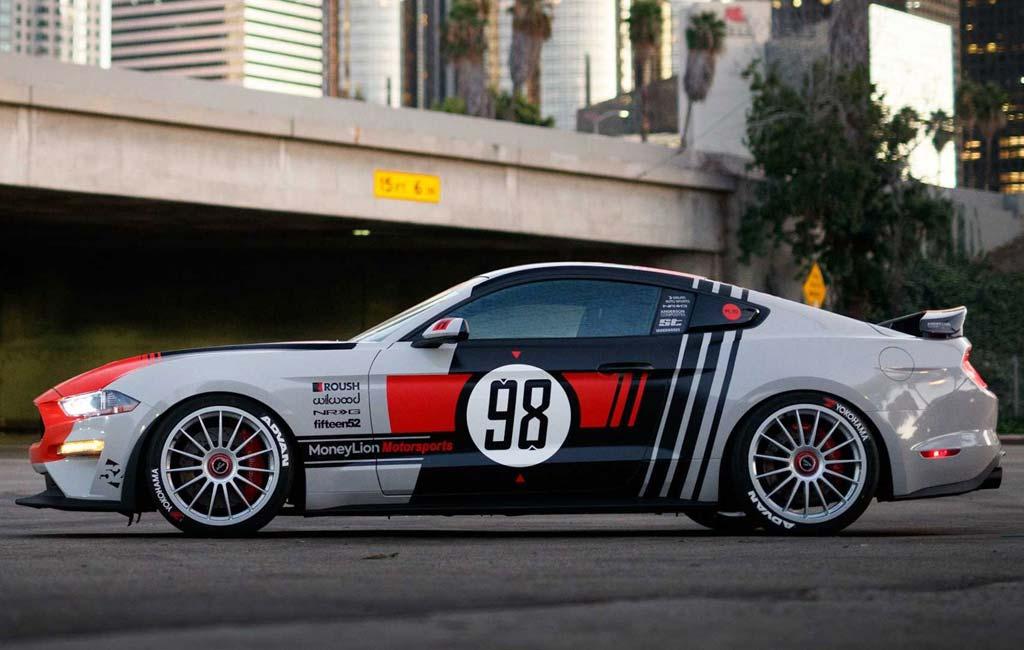 Retro Mustang GT