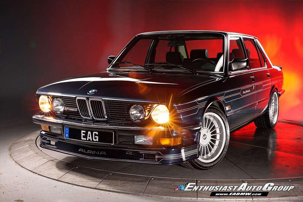 BMW Alpina B7 Turbo (E28)