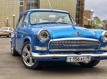 ГАЗ-21 1JZ-GE