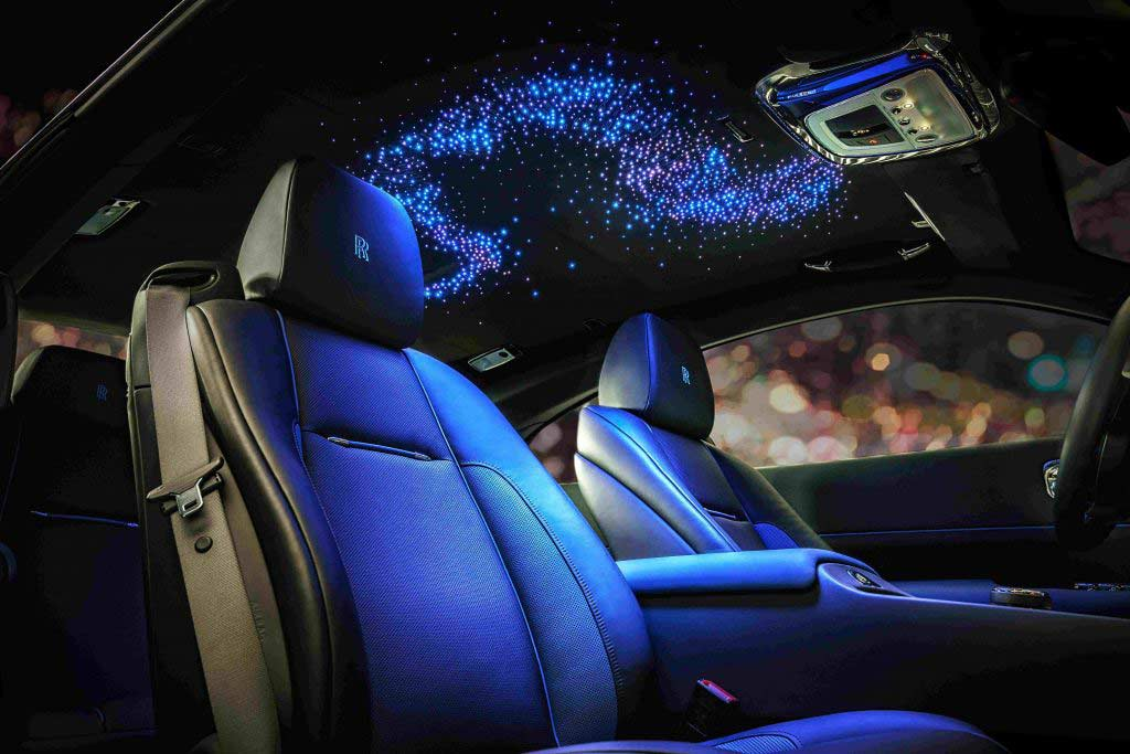 Звездное небо в Rolls-Royce