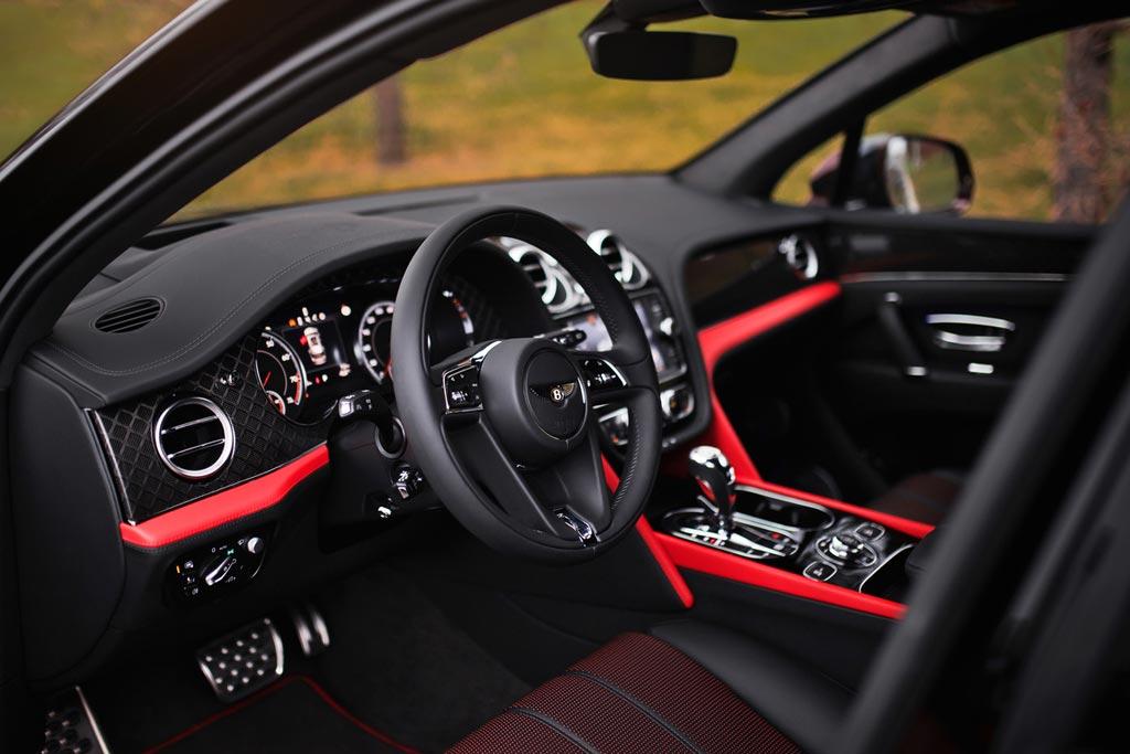 Bentayga Speed и Design Series