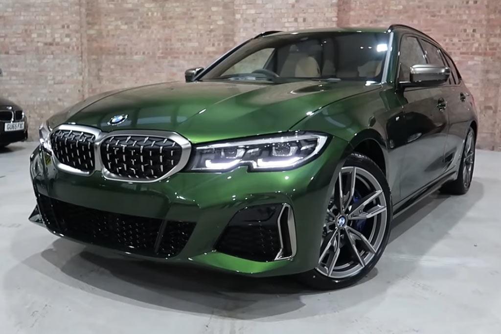 Клиент выложил 360 000 рублей за темно-зеленый цвет «Verde Ermes» для своего BMW
