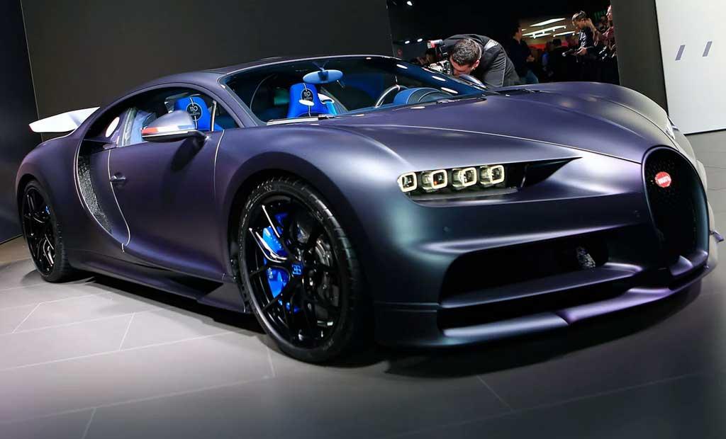 Chiron 110 ans Bugatti