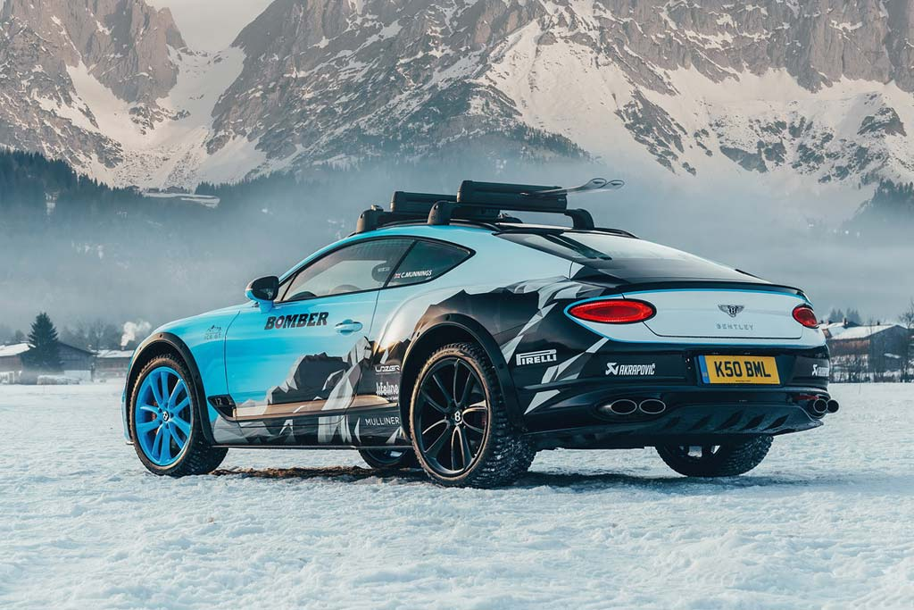 Continental GT Ice Race