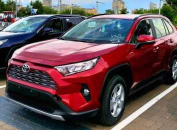 Toyota RAV4 Red