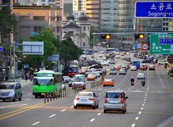 Дороги в Южной Корее