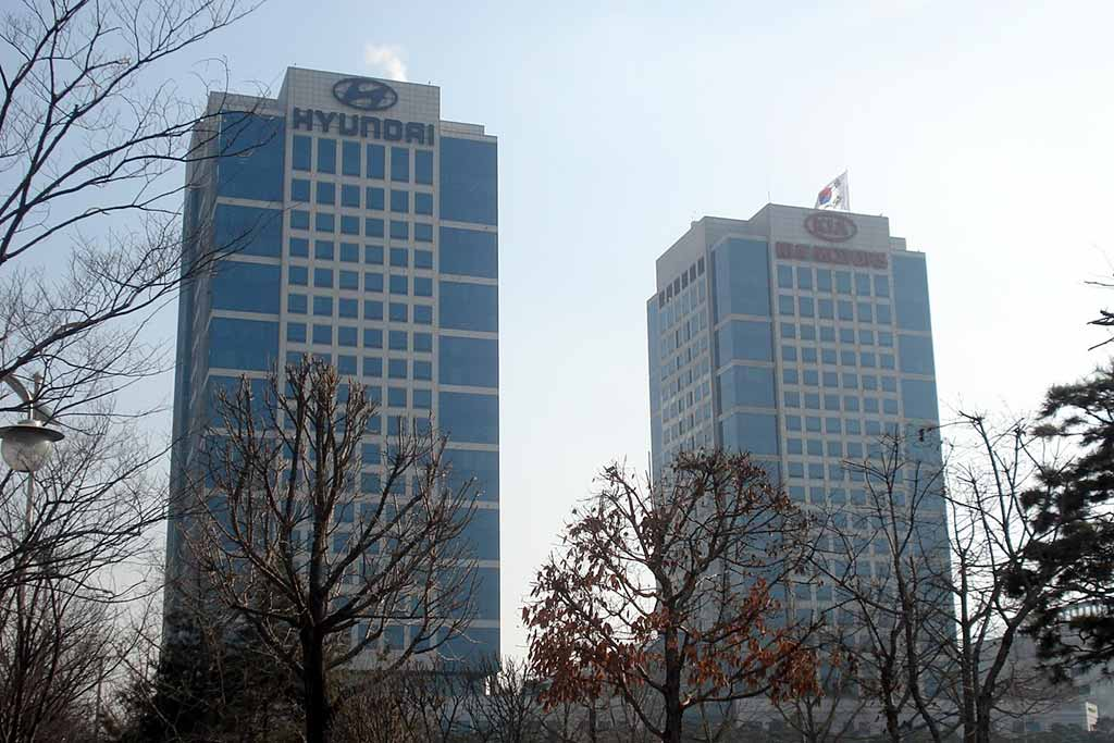 Штаб-квартиры KIA и Hyundai