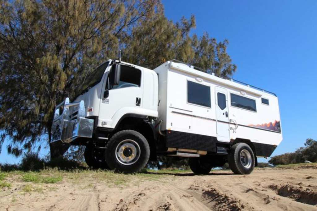 FTS 800 Expedition Vehicle