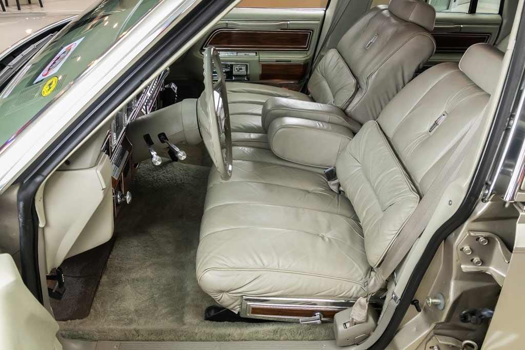 Lincoln Continental Mark VI 1980