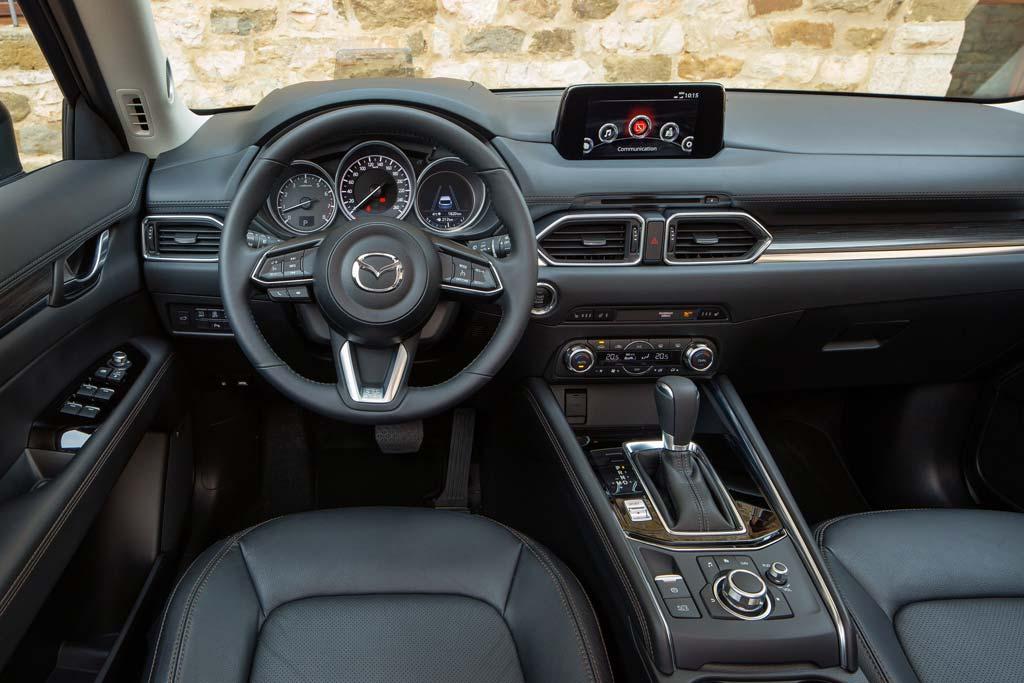 Салон new Mazda CX-5 II