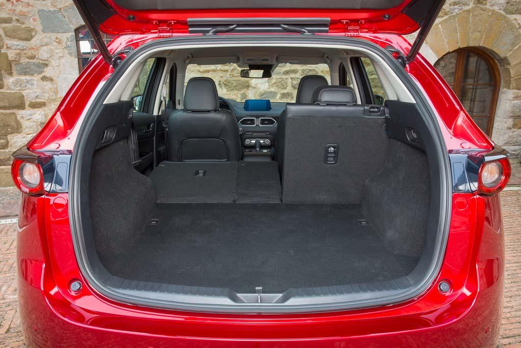 Багажник новой Mazda CX-5 II