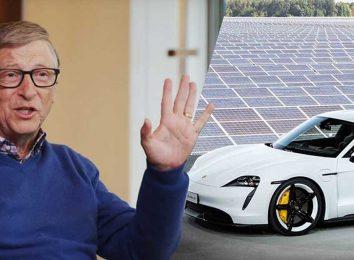 Билл Гейтс купил Порше Тайкан