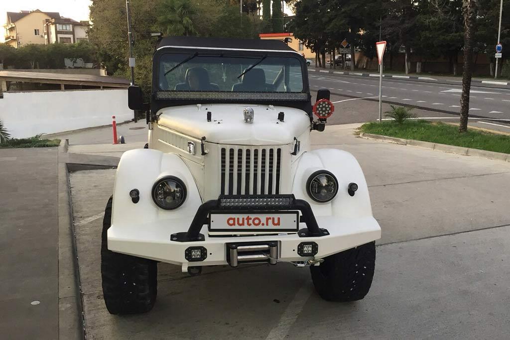 ГАЗ-69 на базе Патриот
