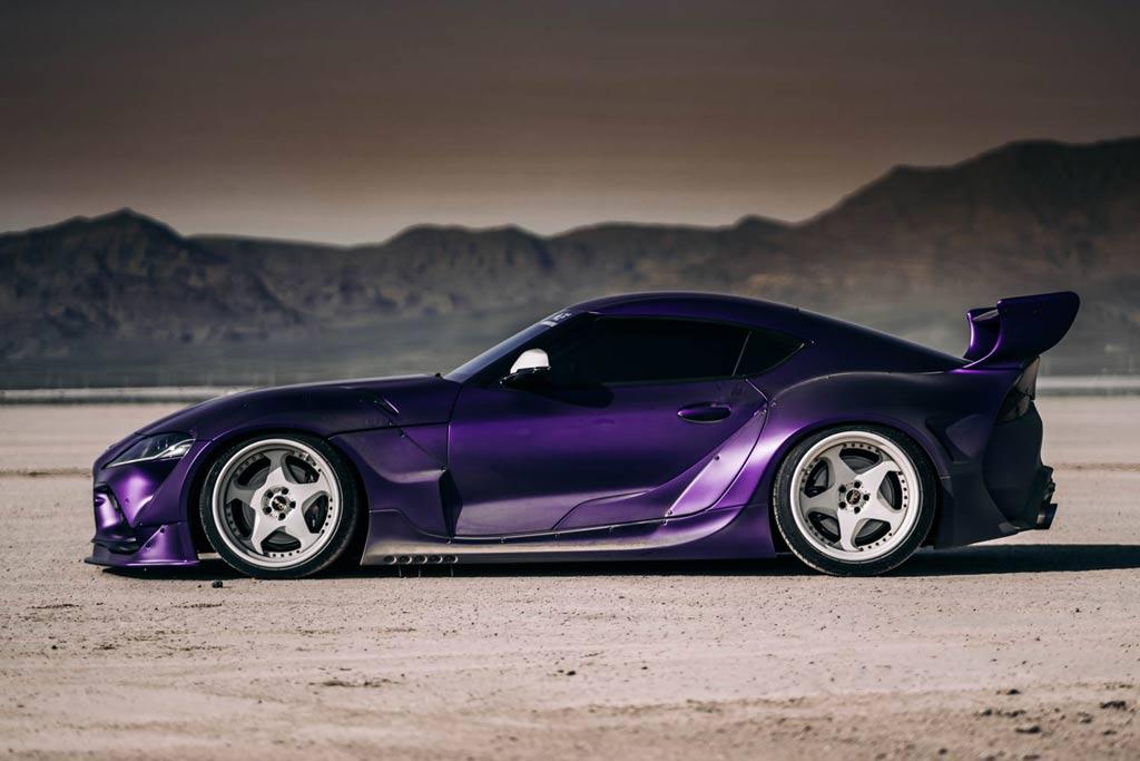 Purple GR Supra