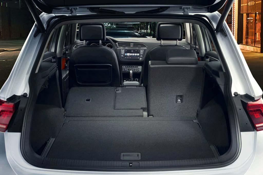 Багажник Volkswagen Tiguan II