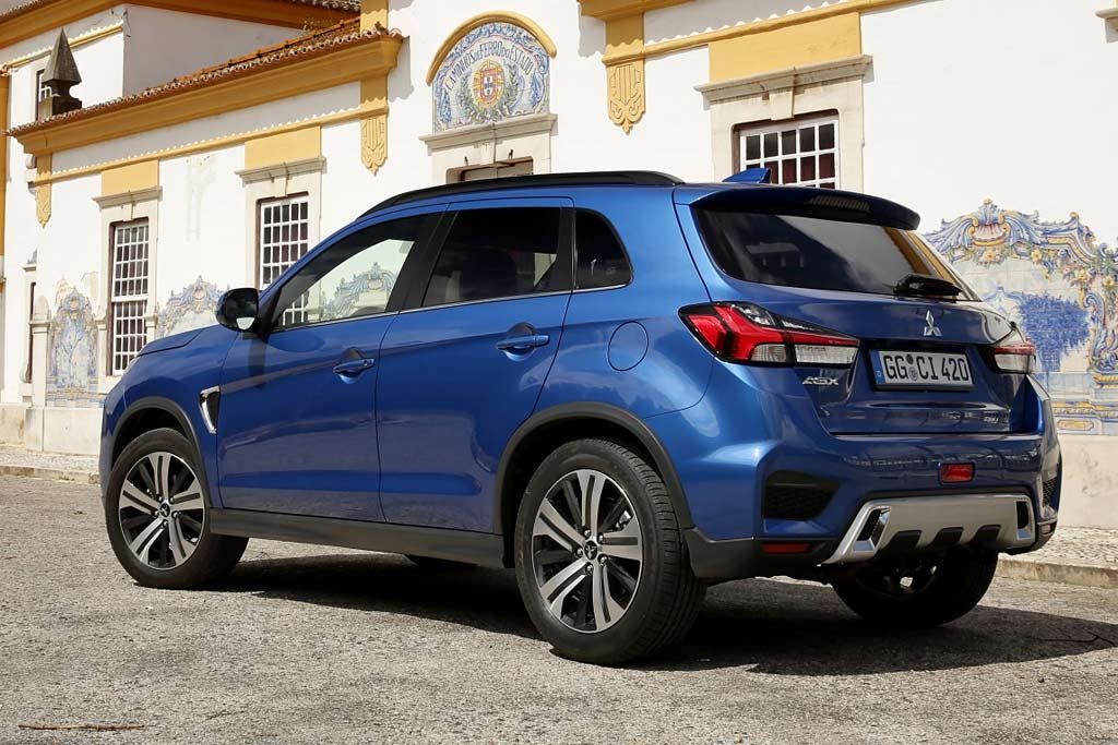 Mitsubishi ASX 2021 в новом кузове